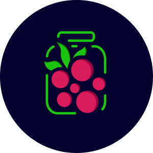 capsuni, doar capsuni 300g - Delicium - Jams and Syrups